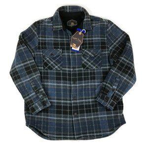 NWT Freedom Foundry Plush Shirt Jacket Mens Large